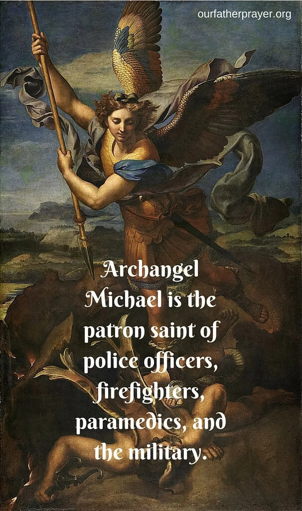 Archangel_Michael_is_the_patron_saint_of_police_officers_firefighters_paramedics_and_the_military.