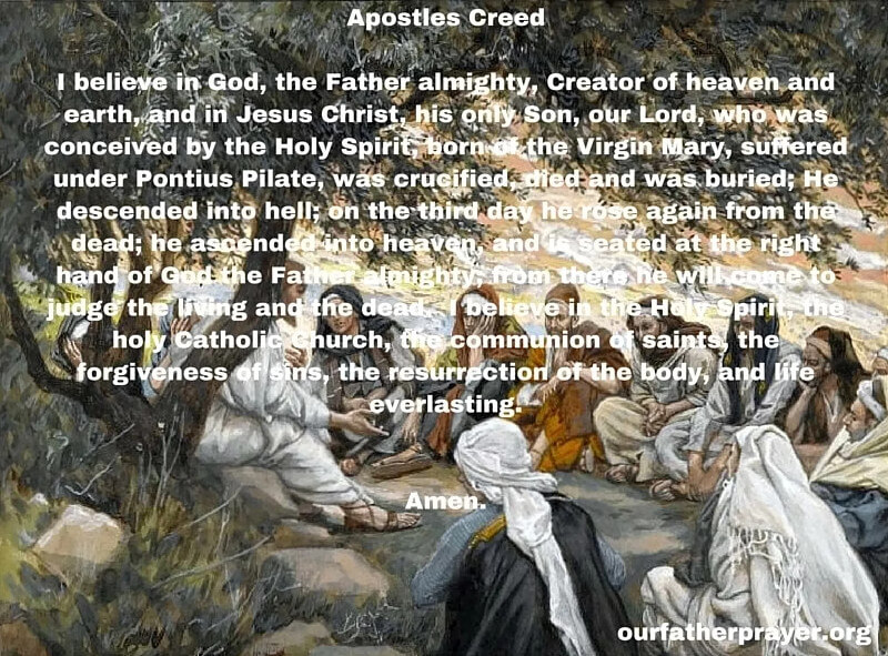 Nicene Creed Apostles