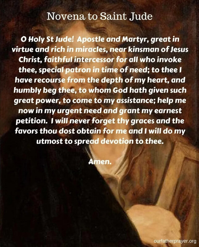 st jude prayer