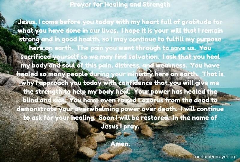 Christian Prayers for Healing