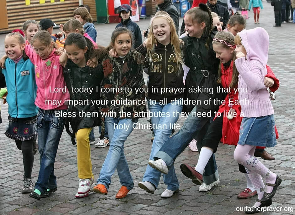 prayer for our children's protection