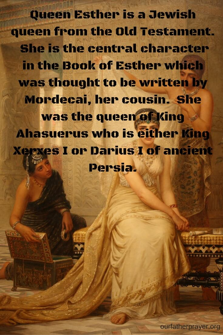 Who is Queen Esther in the Bible